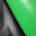 Tecido Plástico Verde Limão - Preto Fosco  22m²