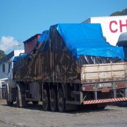 Lona Poly-Lona Forro Caminhão 16x7 Azul Polyethileno