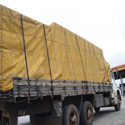 Lona Encerado Algodão 11x5 + ilhóses c/ 50cm