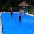 Capa para Piscina Super 8,5 x 3,5m PP/PE Cor Azul / Preto 64 molas 64 lonafix 3b
