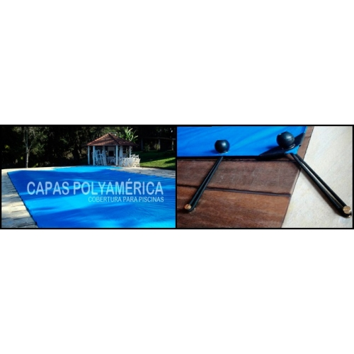 Capa para piscina am rica 8x8 32 lonaflex 20cm 32 for Piscina 5x4