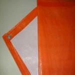 Lona Poly-Lona 5x4  Laranja e Branca de Polyethileno