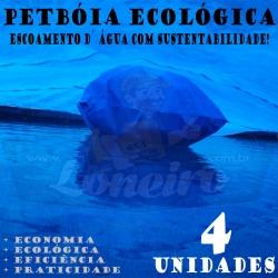4 PetBóia Ecológica com 52m de corda, 16 Lonafix, 1 Batedor e 32 Elásticos LonaFlex 20cm