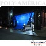 Lona Poly-Lona 8x6 Azul e Branco de Polyethileno